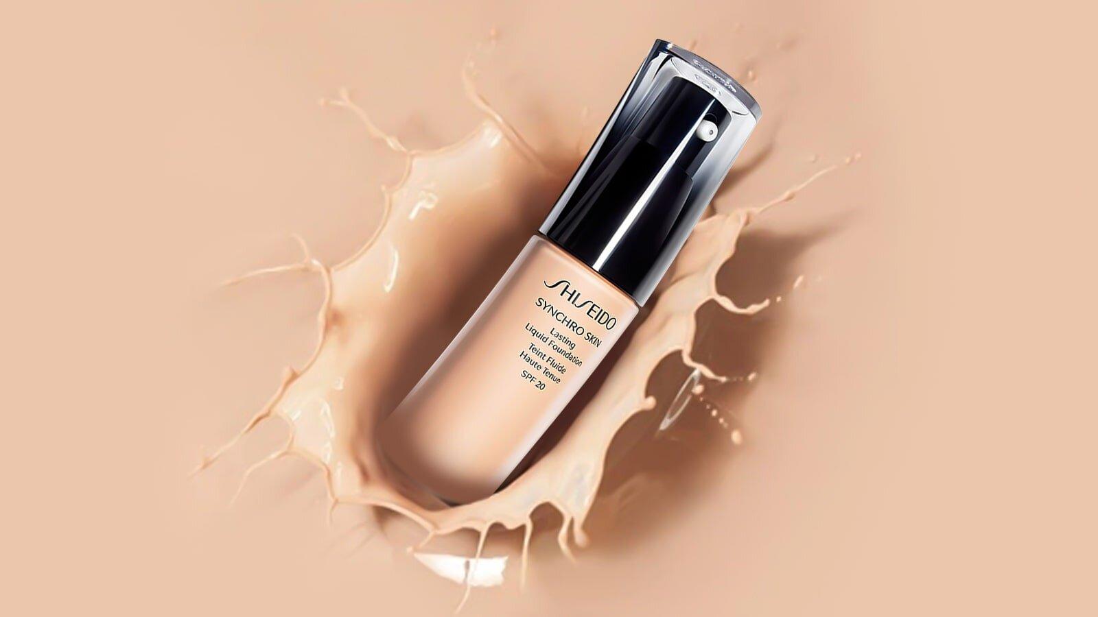 foudation shiseido