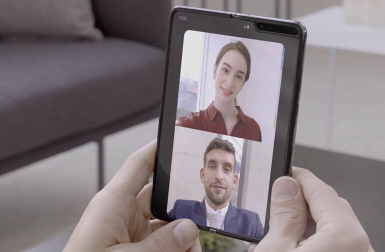 Test camera Samsung Galaxy Fold