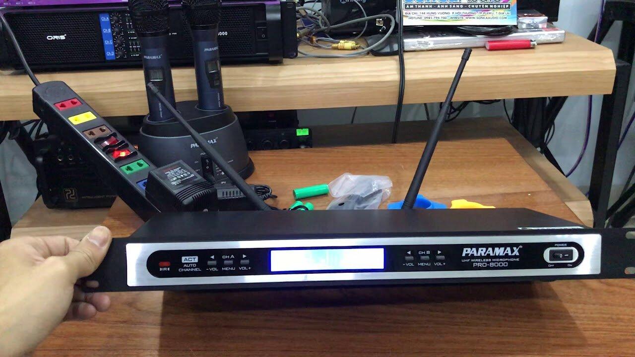 Micro Paramax PRO-8000 New được sử dụng phổ biến