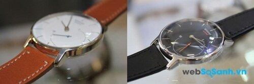 Hai màu tuỳ chọn của đồng hồ Withing Activité Nguồn: Internet