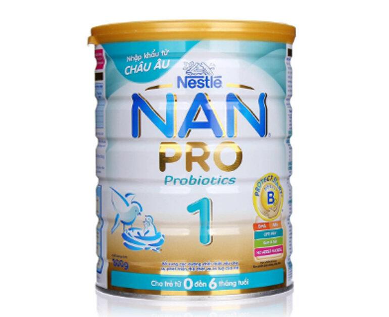 Sữa Nan của Nga