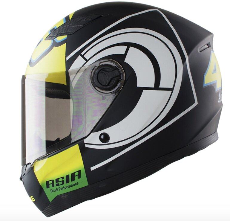 Mũ bảo hiểm fullface Asia MT 136 bảo đảm an toàn cho những chuyến đi xa