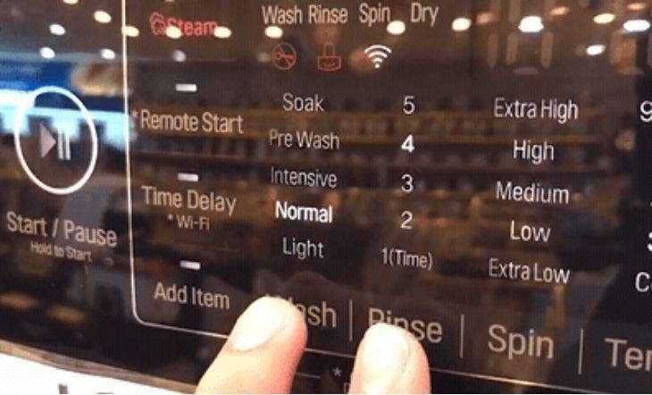 Tính năng khóa trẻ em trên máy giặt LG F2721HTTV