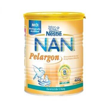 Sữa bột Nan Pelargon 1 - hộp 400g (dành cho trẻ từ 0 - 12 tháng)
