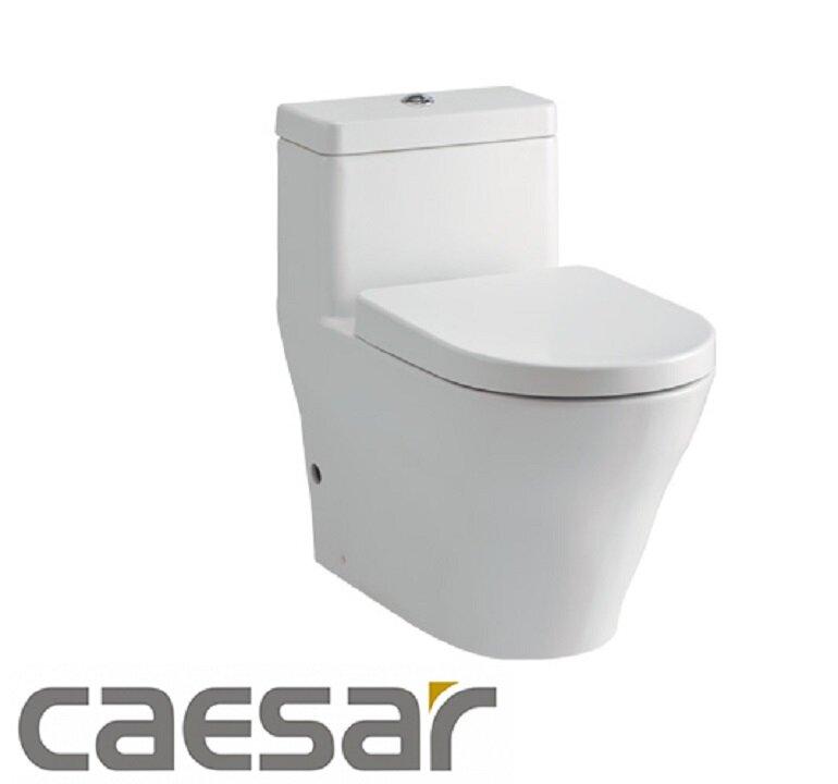 Bồn cầu Caesar giúp nâng tầm đẳng cấp cho không gian phòng tắm