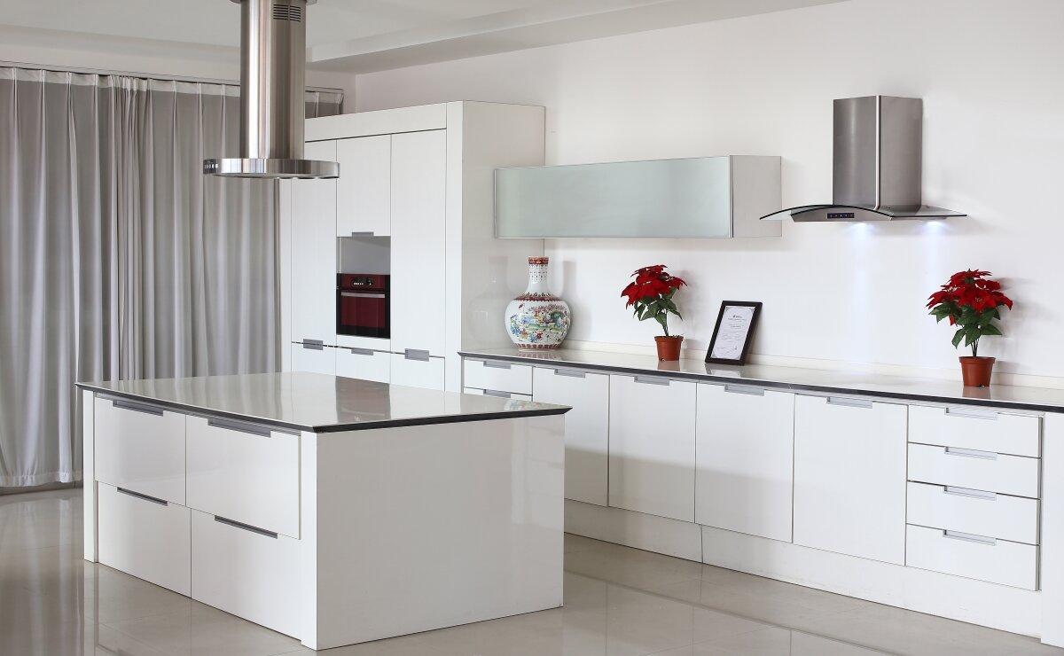 Việc lắp đặt các loại máy hút mùi cho gian bếp ngoài những lợi ích cho không gian bếp sạch sẽ, không mùi còn làm đẹp, trang trí
