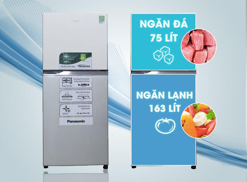 Tủ lạnh Panasonic còn tích hợp các công nghệ tiên tiến giúp bảo quản rau hoa quả nhà bạn luôn tươi ngon mỗi ngày