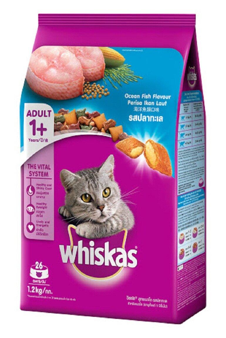 Thức ăn khô cho mèo Whiskas