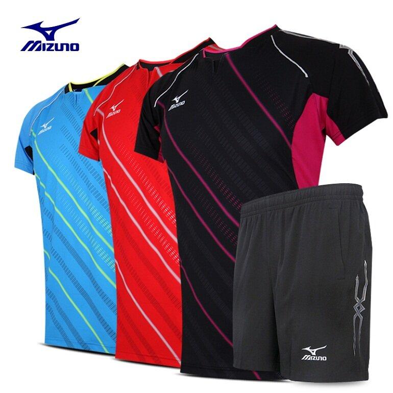 Quần áo bóng chuyền Mizuno được làm từ chất liệu vải cao cấp