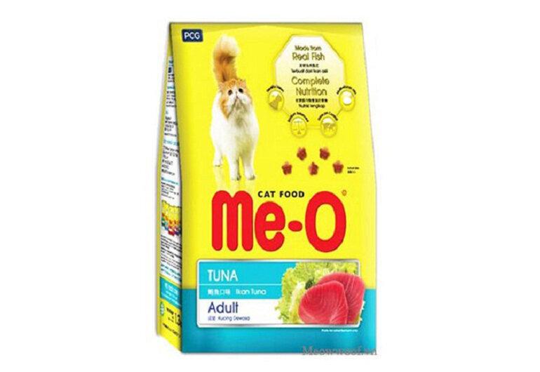 Thức ăn cho mèo Me-O có xuất xứ từ Thái Lan