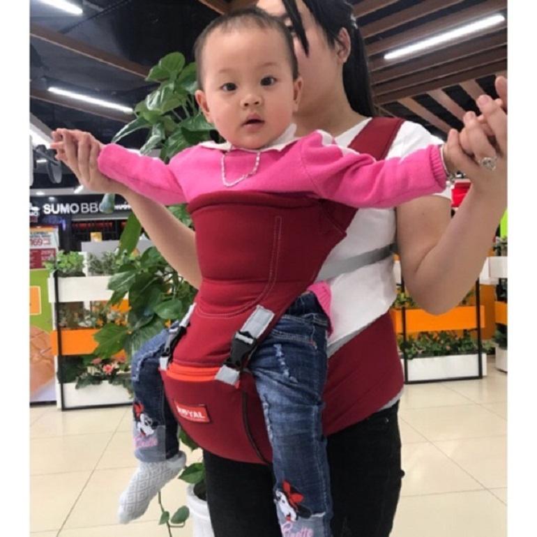 Đai địu em bé hàng Việt Nam được nhiều bà mẹ tin dùng cho con em mình