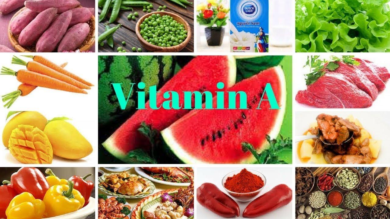 Những thực phẩm giàu vitamin A tốt cho bà bầu