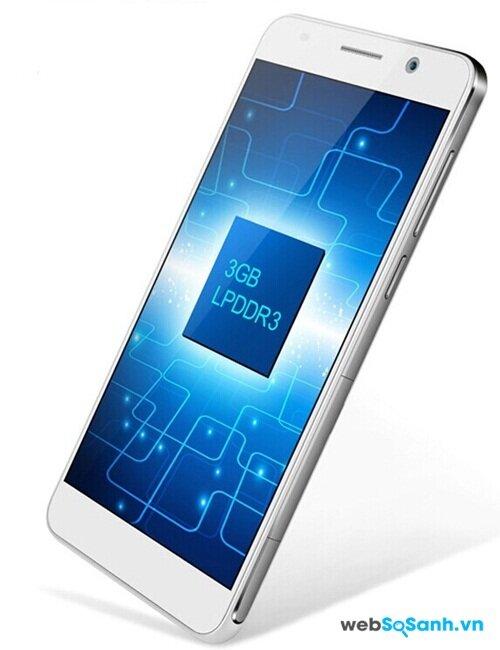 Huawei Honor 6 sử dụng chip lõi 8 và RAM 3GB
