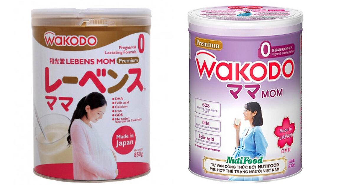 Sữa bầu Wakodo có tốt không? Có mấy loại? Giá bao nhiêu?