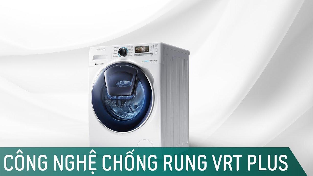 công nghệ chống ồn ở máy giặt Samsung