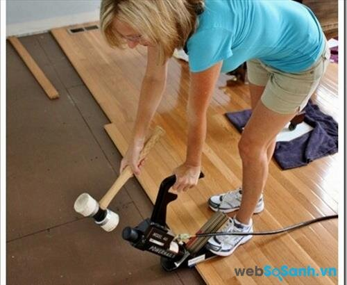 Các loại sàn gỗ có chỉ số chống va đập IC2 đã đáp ứng được nhu cầu sử dụng