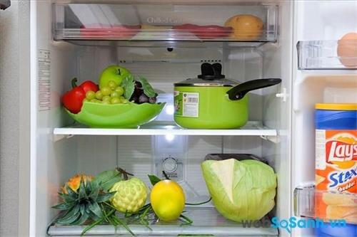 Khay kính chịu lực giúp đựng được nhiều thực phẩm