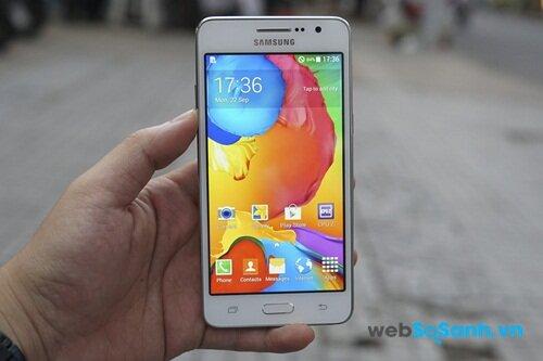 Samsung sử dụng công nghệ màn hình TFT khá cũ cho Galaxy Grand Prime