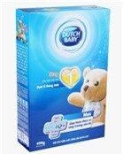 Sữa bột Dutch Lady Cô gái Hà Lan Step 1 - hộp 400g (hộp giấy dành cho trẻ từ 0 - 6 tháng tuổi)