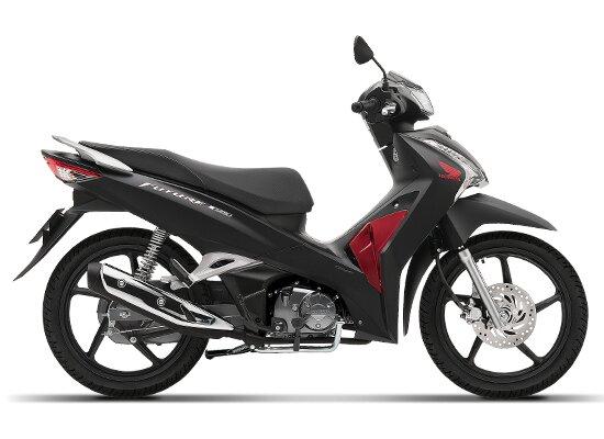 Honda Future màu đen đỏ 2020.
