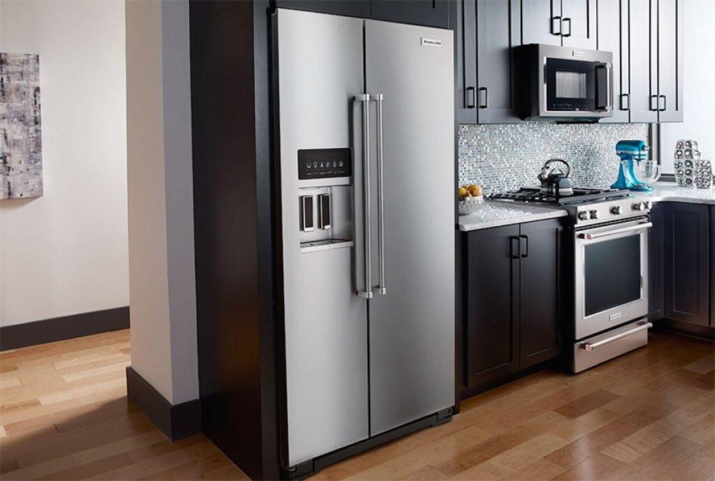 Nên lắp đặt tủ lạnh LG ở một vị trí phù hợp nhất trong căn bếp