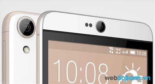 Với camera trước 4 MP công nghệ Ultrapixel Desire 826 sẽ làm siêu lòng những tín đồ selfie