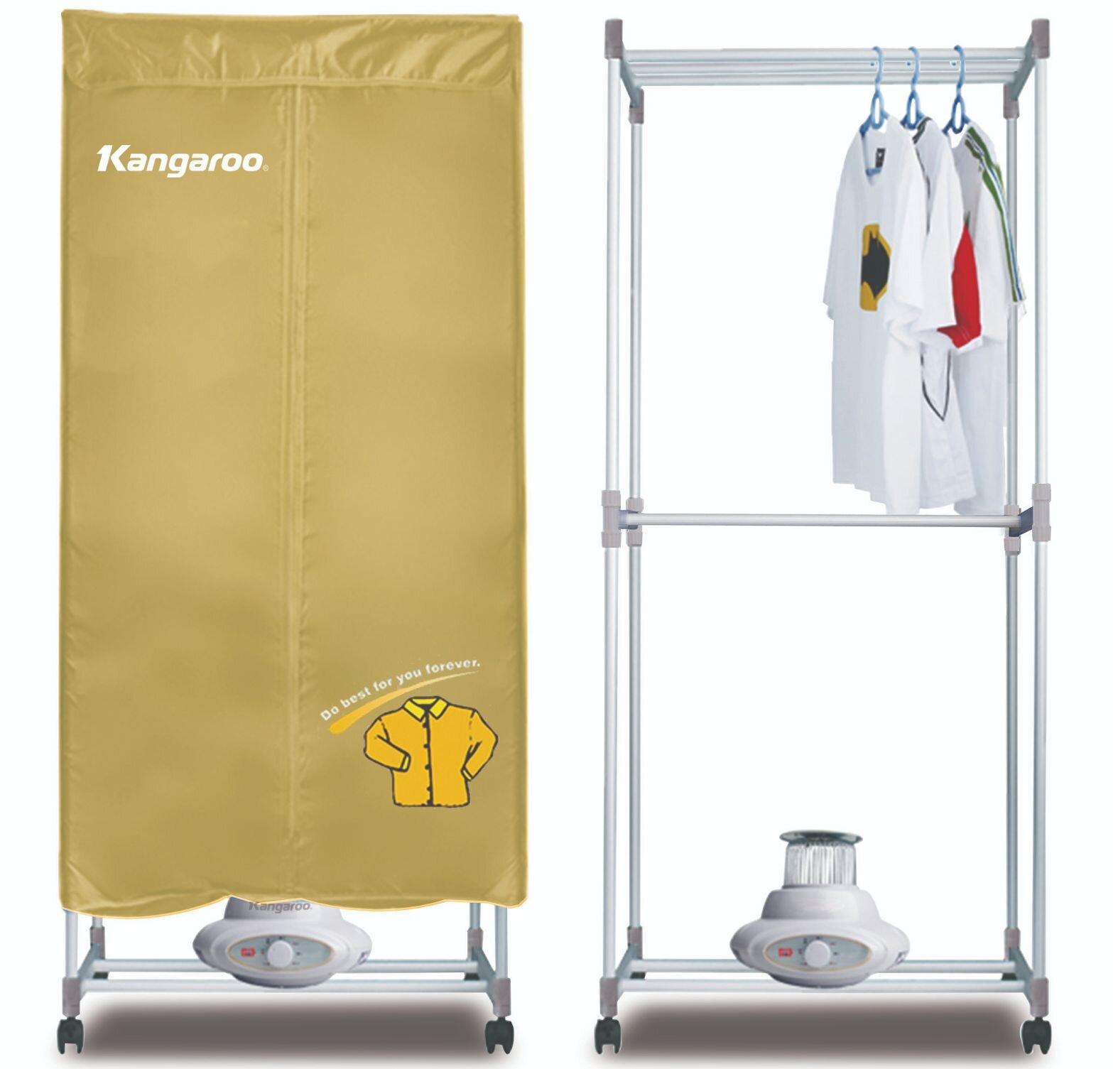 Sử dụng máy sấy áo quần Kangaroo đúng cách sẽ nâng cao độ bền