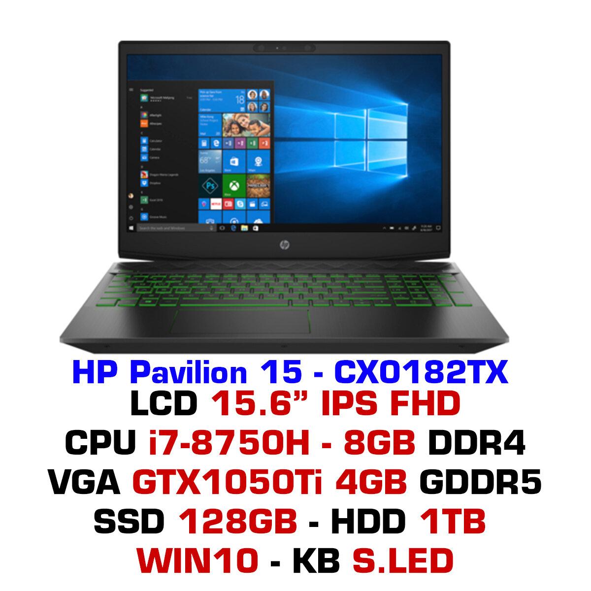 Laptop HP Pavilion Gaming 15-cx0182TX 5EF46PA
