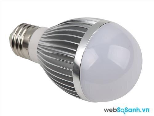 Sử dụng đèn Led vừa tiết kiệm điện lại không nóng