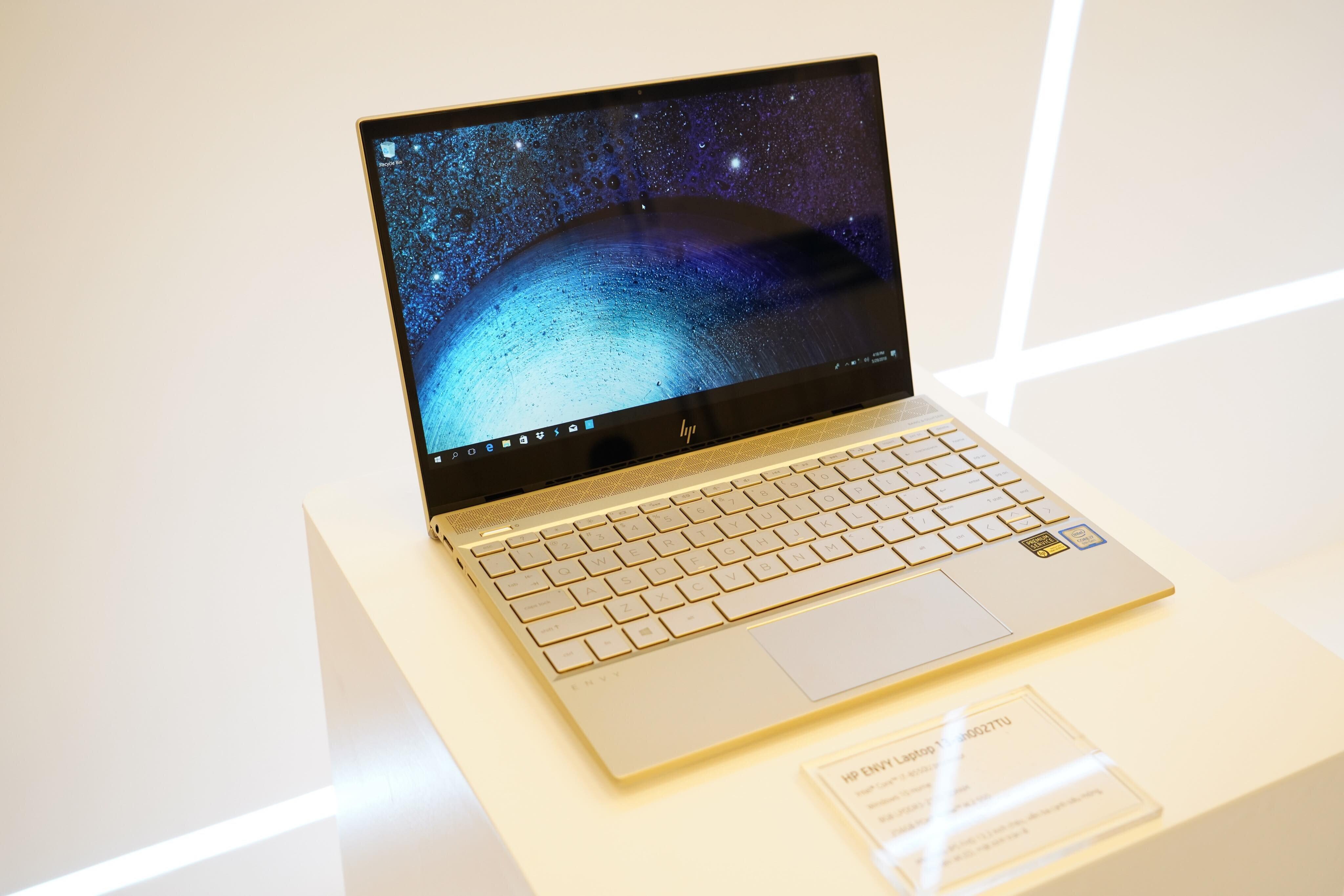 Bàn phím máy HP Envy 13-AH1011TU 5HZ28PA được thiết kế thân thiện với người dùng