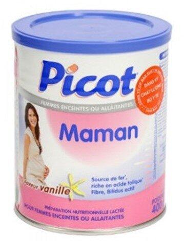 Sữa bột Picot Mama - hộp 400g (dành cho bà mẹ mang thai và cho con bú)