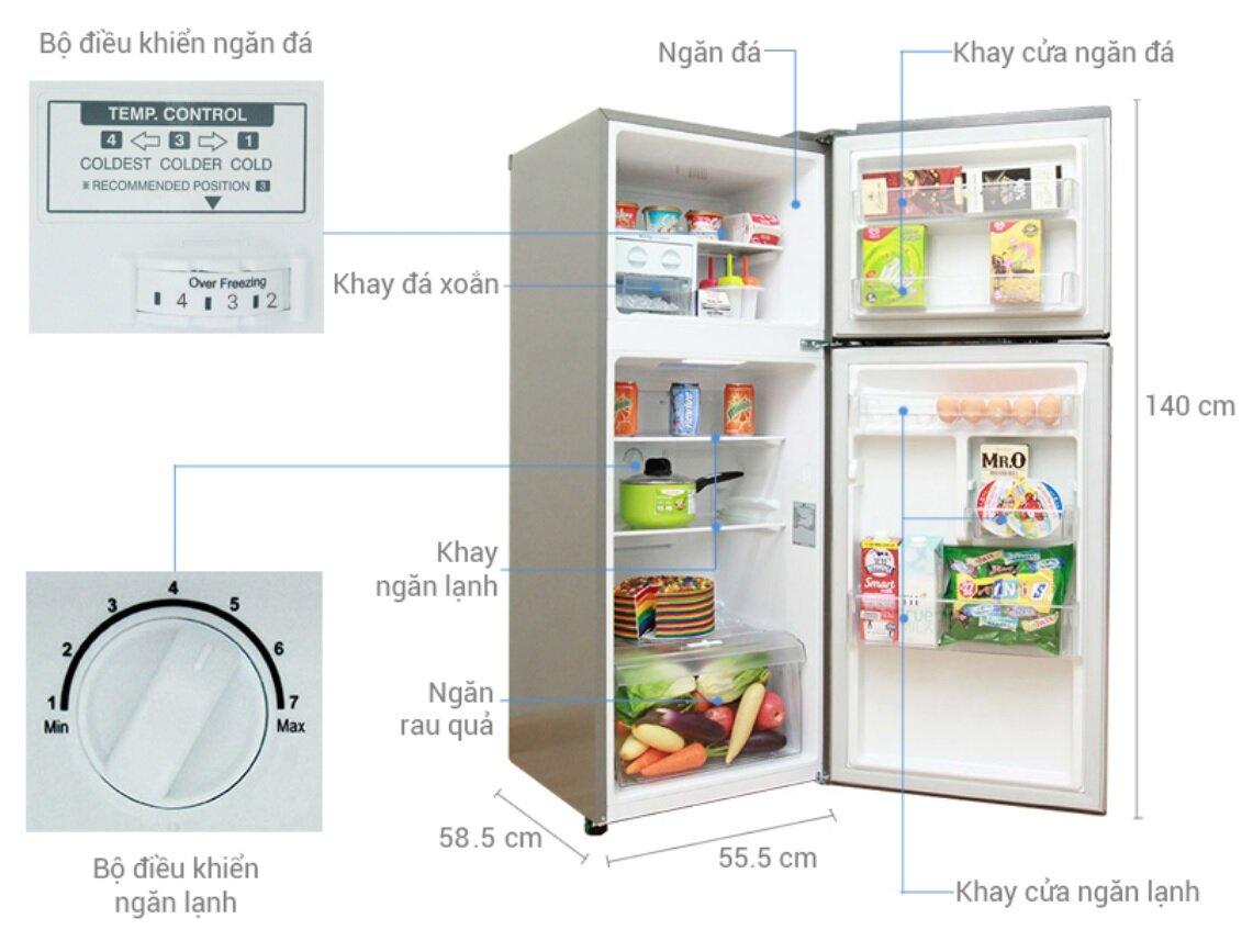 Tủ lạnh LG GN-L205S c