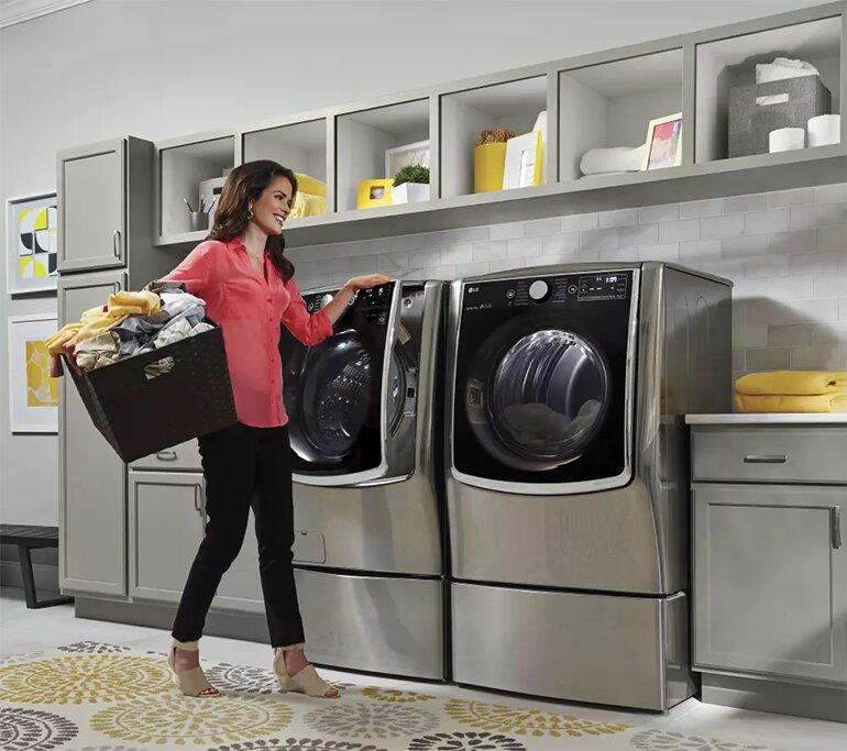 Máy giặt LG đáp ứng mọi khối lượng áo quần