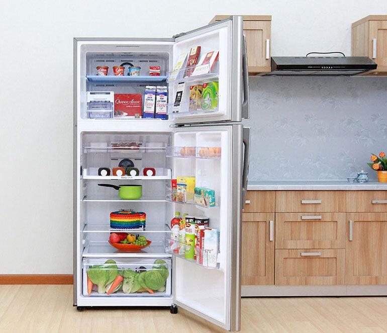 tủ lạnh hai cánh Samsung RT22HAR4DSA, 234 lít