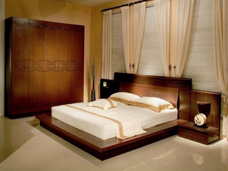 Tham khảo các thiết kế nội thất phòng ngủ gỗ tự nhiên bán chạy