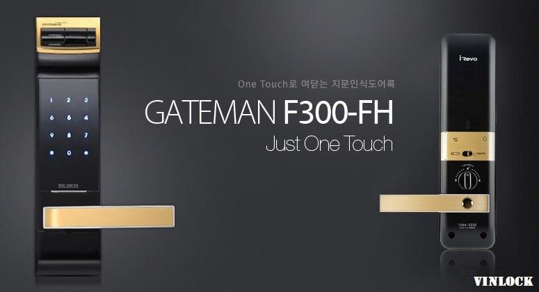 Khóa điện tử có remote Gateman F300