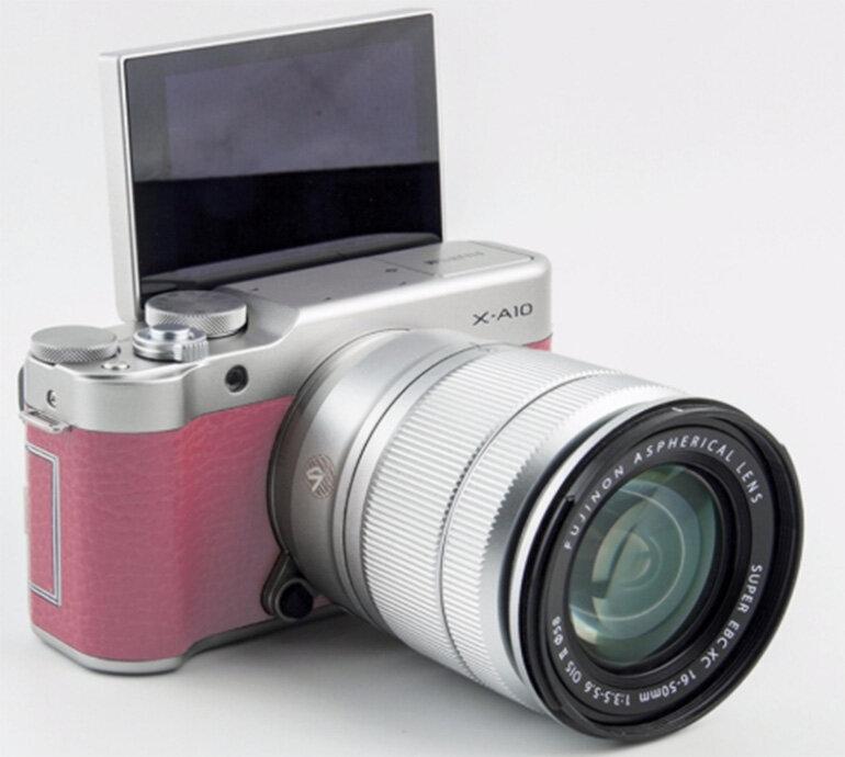 Máy ảnh Fujifilm XA10 mang đậm phong cách hoài cổ (Nguồn: bukalapak.com)