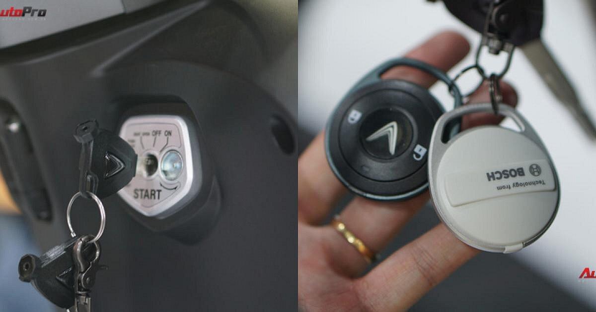 Tính năng kết nối thông minh của xe máy điện Vinfast Klara