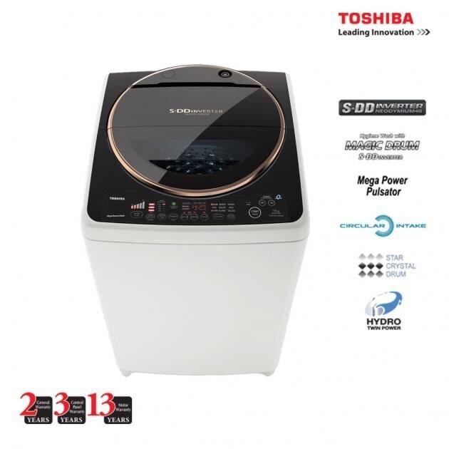 Máy giặt Toshiba S DD Inverter có nhiều ưu điểm đáng mua