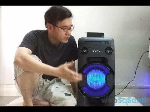 Sony Onebox Speaker MHC - V11