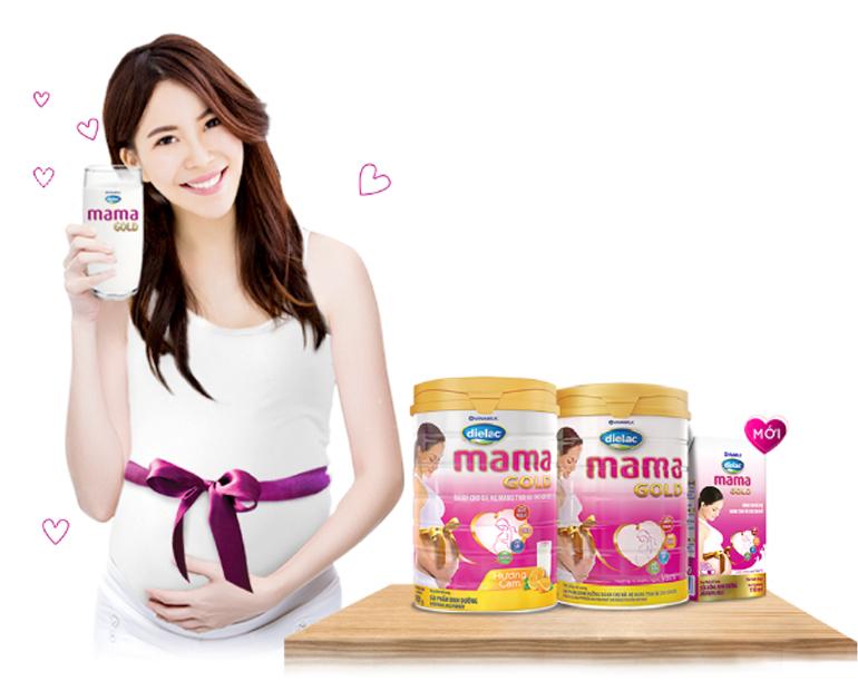 Sữa bầu Vinamilk Dielac Mama Gold có tốt không ?