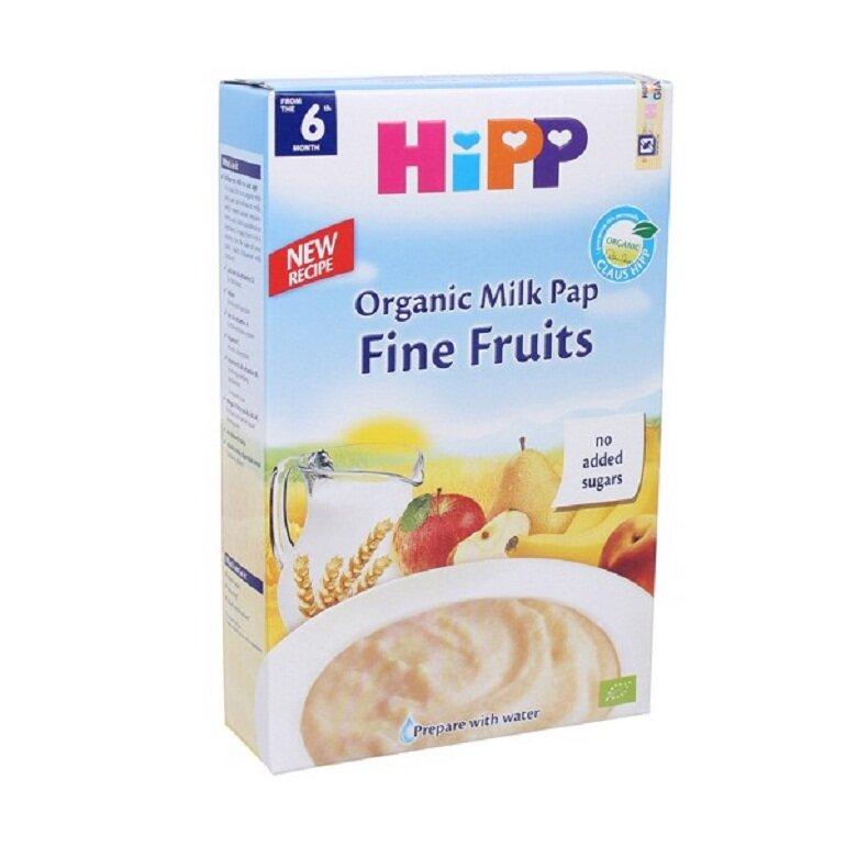 Bột ăn dặm Hipp cung cấp đủ các dưỡng chất cho bé phát triển toàn diện