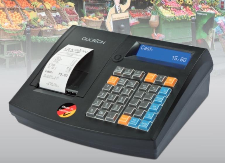 Máy tính tiền cửa hàng tạp hóa QMP -50 có thể quản lý nhiều mã hàng