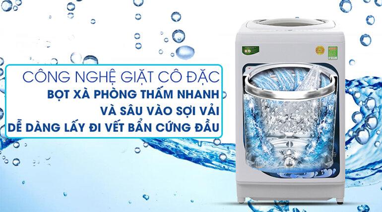 Máy giặt Toshiba 9kg AW-G1000GV WG giặt sạch và tiết kiệm điện
