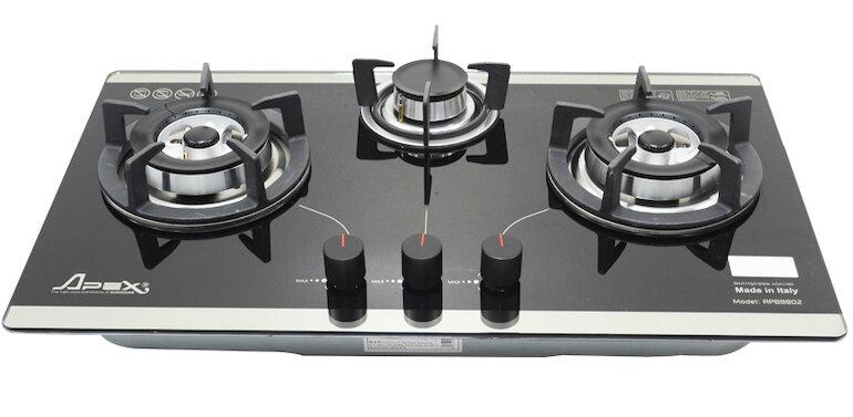 Bếp ga âm kính Sunhouse APB8802 cao cấp