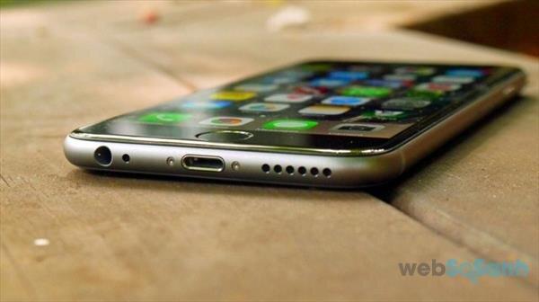 Dung lượng pin của iPhone 6 được cải thiện khá nhiều so với các phiên bản trước