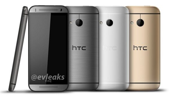 Thêm ảnh rò rỉ HTC One mini 2, bản rút gọn của HTC One M8