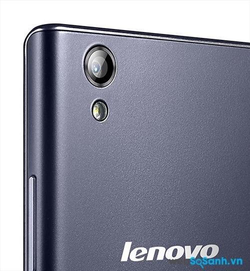 Smartphone Lenovo P70 có camera sau 13 MP với khẩu độ f/2.0