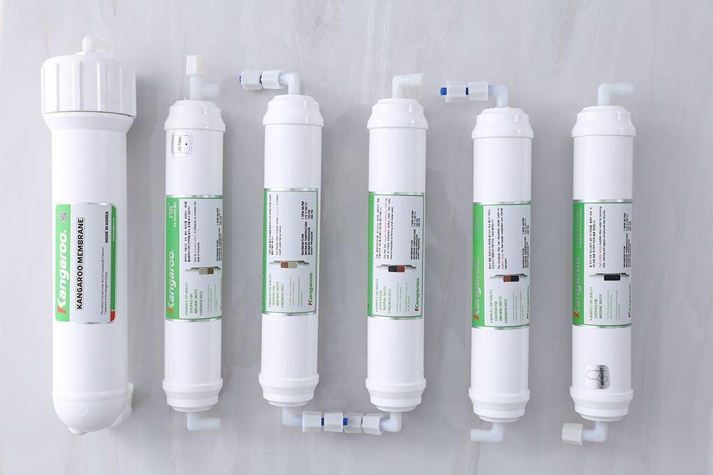 Cấu tạo bộ lọc của máy lọc nước Kangaroo Hydrogen