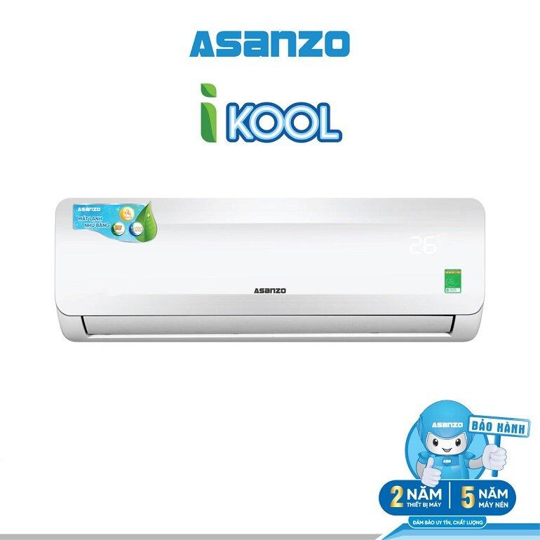ưu nhược điểm của điều hòa inverter 9000btu asanzo k09n66
